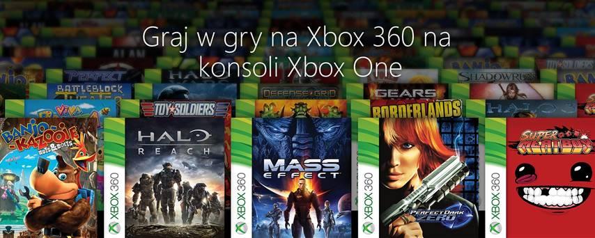 Xbox One kompatybilnosc wsteczna