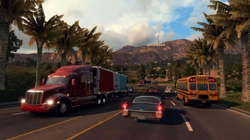 Nowa skala mapy w American Truck Simulator
