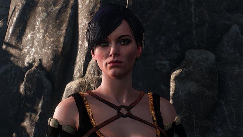 elfy kobiety wiedźmin 3