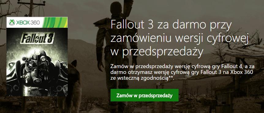 fallout 3 za darmo