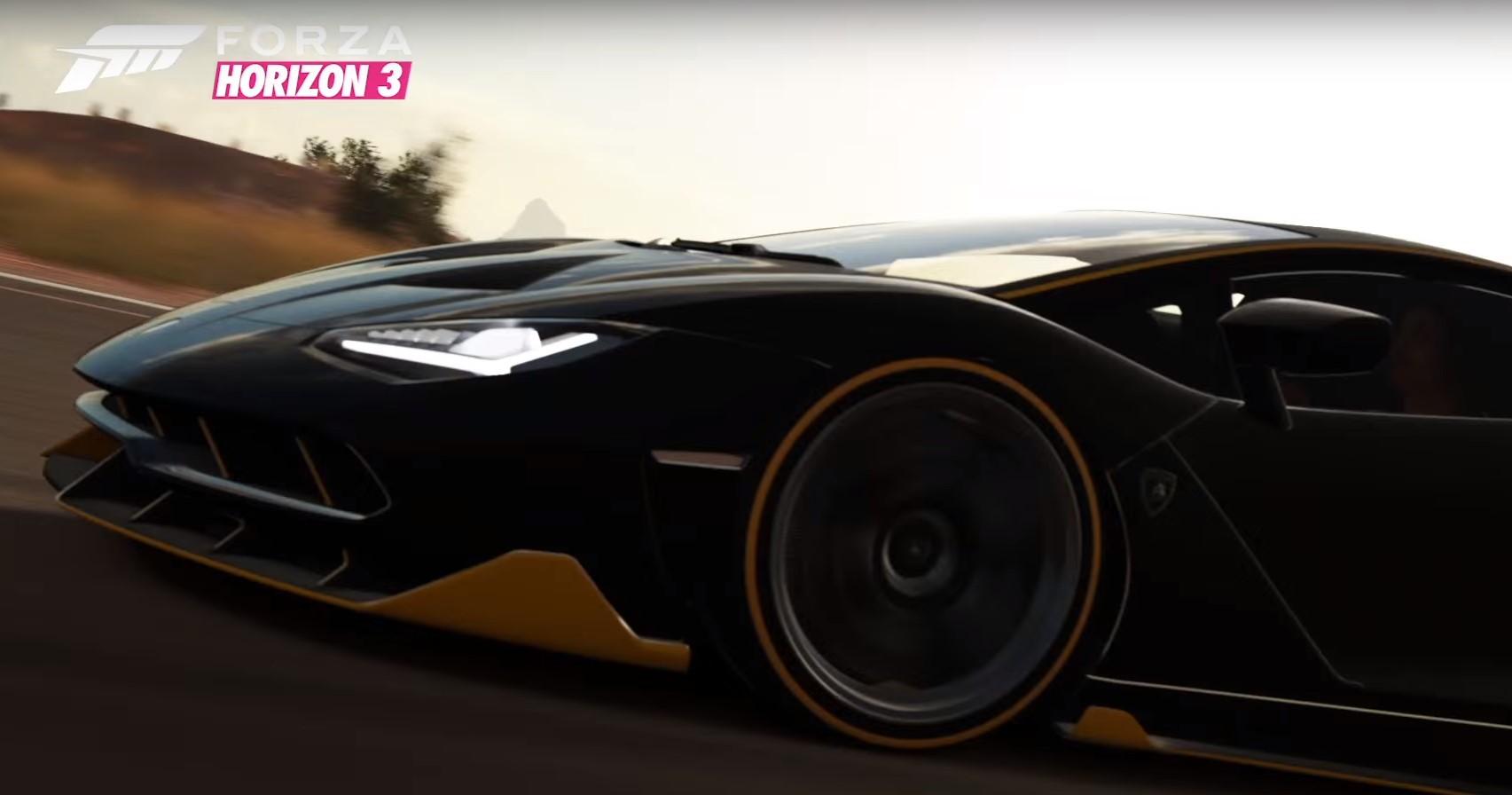 Forza Horizon 3 – oficjalny zwiastun