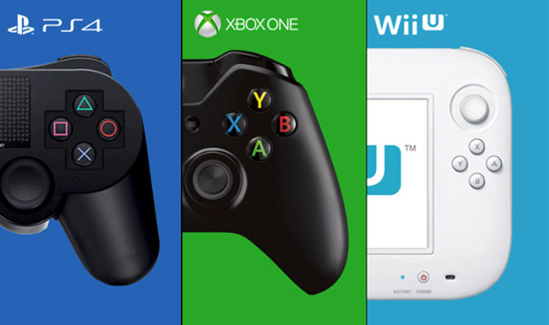 ps4 wiiu xbox one