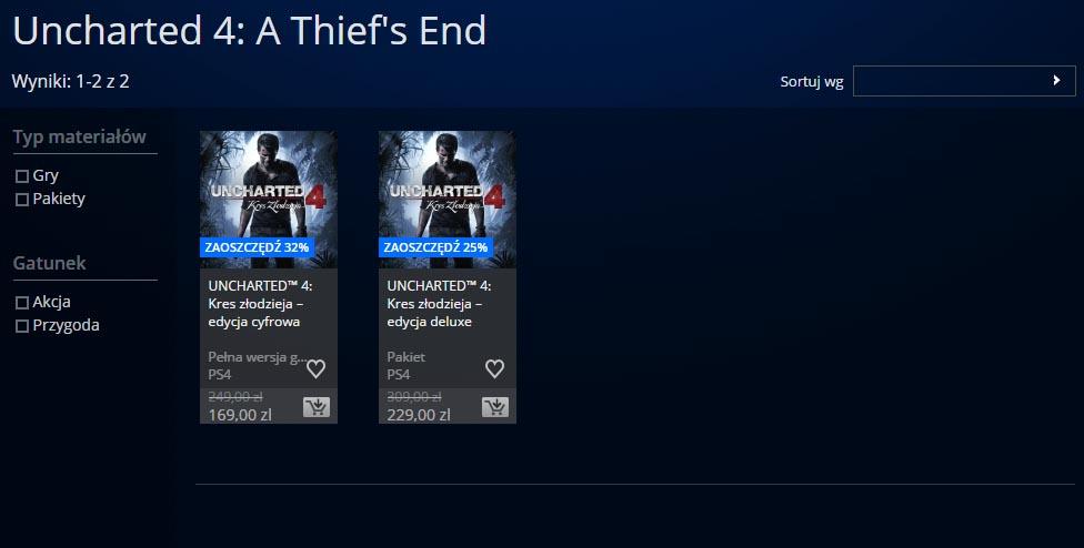 uncharted 4 promocja